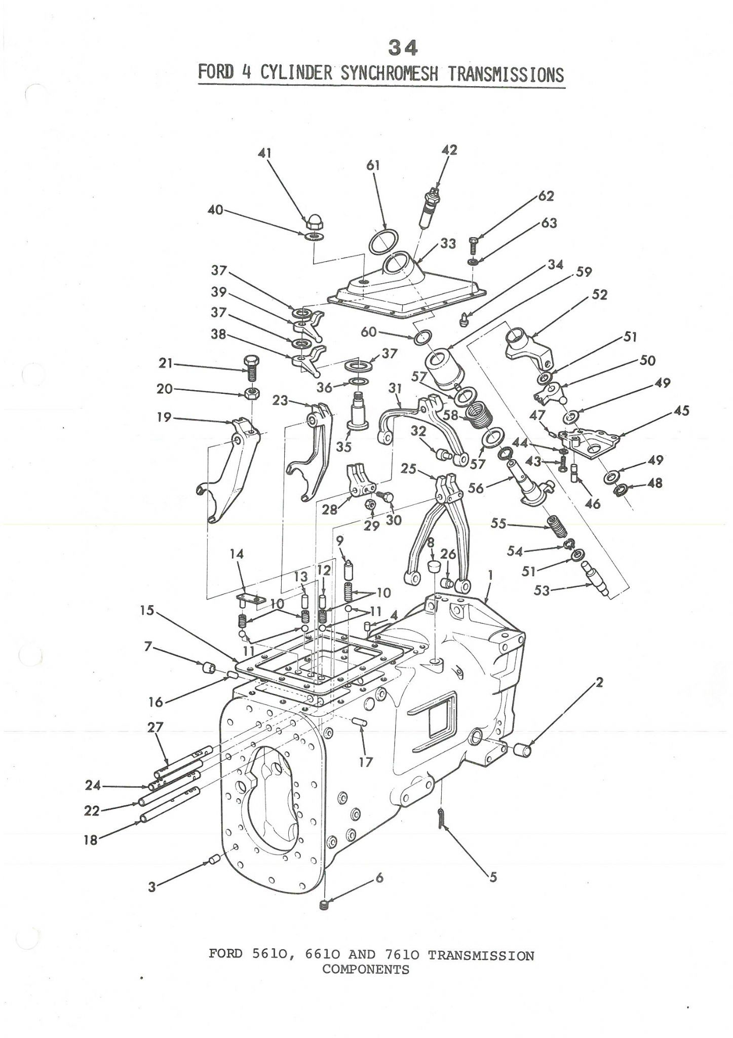 5610 Ford Tractor Parts Diagram : Ford tractor hydraulics diagram imageresizertool